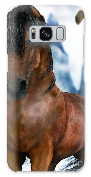 Winter Horse Galaxy Case