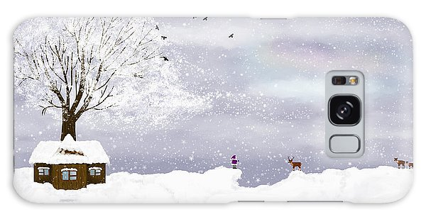 Winter Illustration Galaxy Case