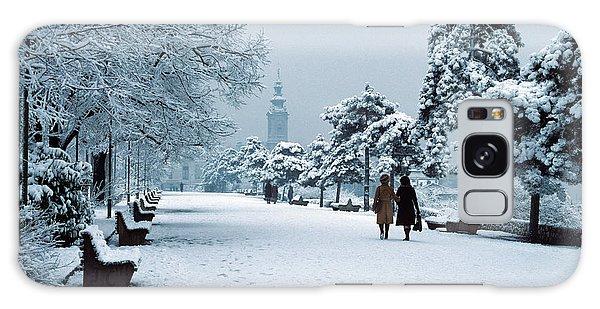 Winter In Belgrade Galaxy Case