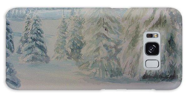Winter In Gyllbergen Galaxy Case by Martin Howard