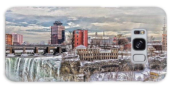Winter In Rochester Galaxy Case