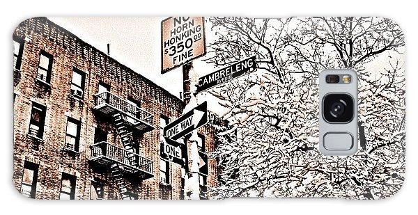 Winter In The Bronx Galaxy Case by Paulo Guimaraes