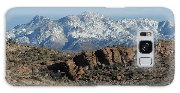 Winter In The  Mohave Desert Galaxy Case