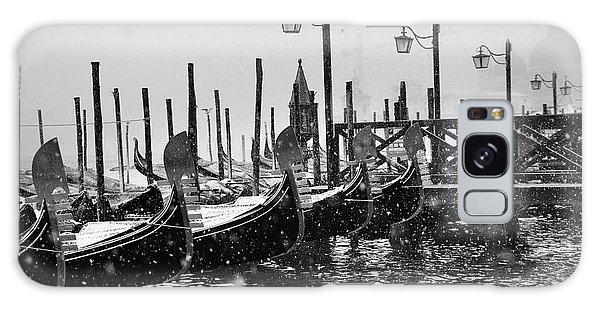 Winter In Venice Galaxy Case