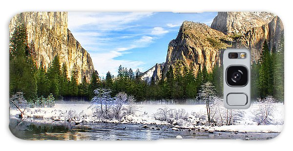Winter In Yosemite Galaxy Case