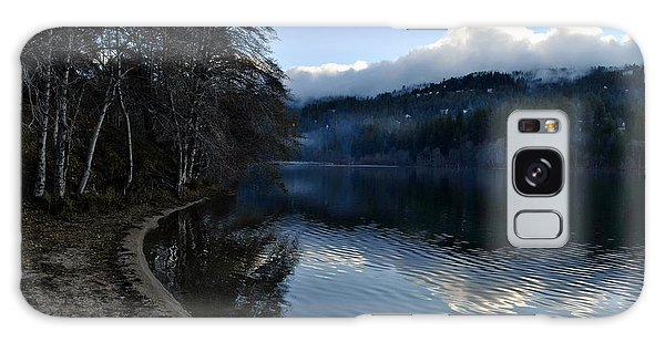 Winter Lake Galaxy Case by Randal Bruck