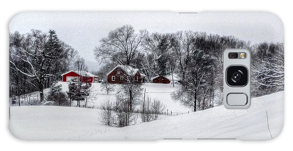 Winter Landscape 5 Galaxy Case by Dan Stone