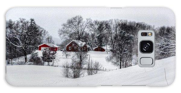 Winter Landscape 5 Galaxy Case