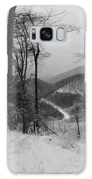 Winter Landscape Galaxy Case by Eva Csilla Horvath
