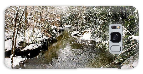 Winter Landscape Galaxy Case by Michelle Joseph-Long