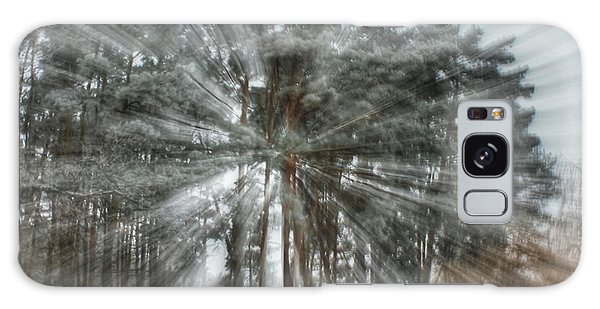 Winter Light In A Forest Galaxy Case