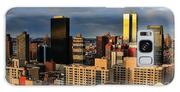 Winter Light In New York Galaxy Case