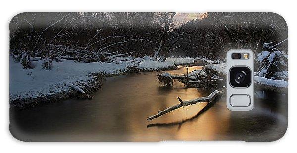 Ice Galaxy Case - Winter Light by Norbert Maier