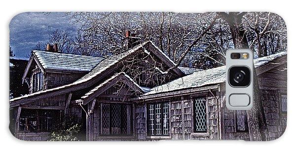 Winter Lodge Galaxy Case by Richard Farrington