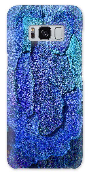 Winter London Plane Tree Abstract 4 Galaxy Case by Margaret Saheed