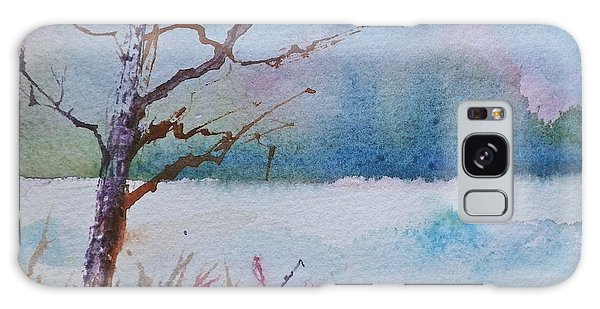 Winter Loneliness Galaxy Case