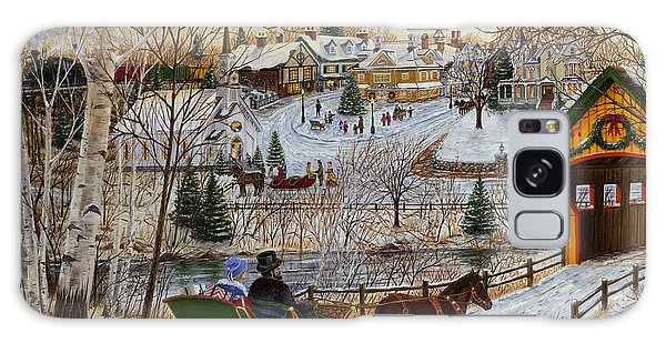 Winter Memories 1 Of 2 Galaxy Case by Doug Kreuger