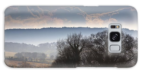 English Countryside Galaxy Case - Winter Morning by Jan Bickerton