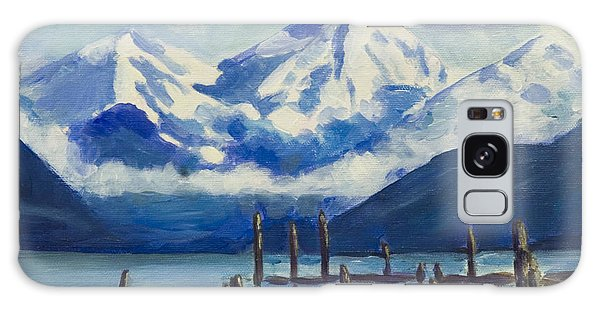 Winter Mountains Alaska Galaxy Case