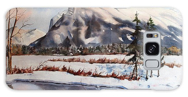 Winter Near Banff Galaxy Case