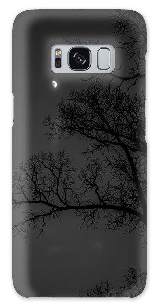 Winter Night Galaxy Case