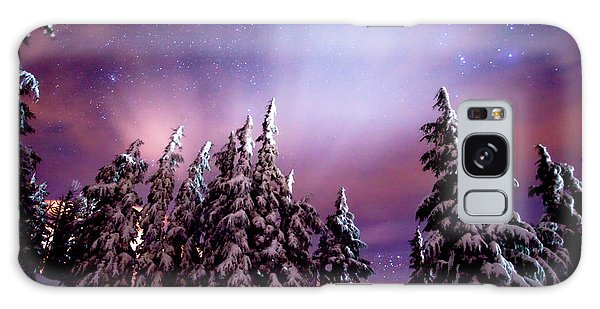 Winter Nights Galaxy Case