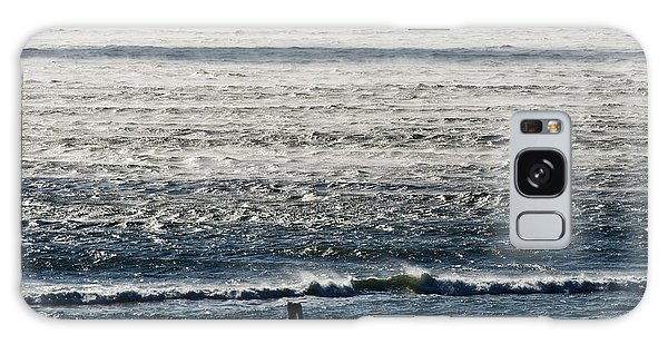 Winter Ocean Rockaway Beach Galaxy Case