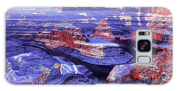 Winter Of Dead Horse Point Galaxy Case