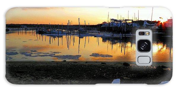 Winter On Sesuit Harbor Galaxy Case