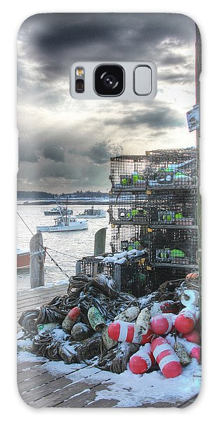 Winter On The Lobster Wharf Galaxy Case