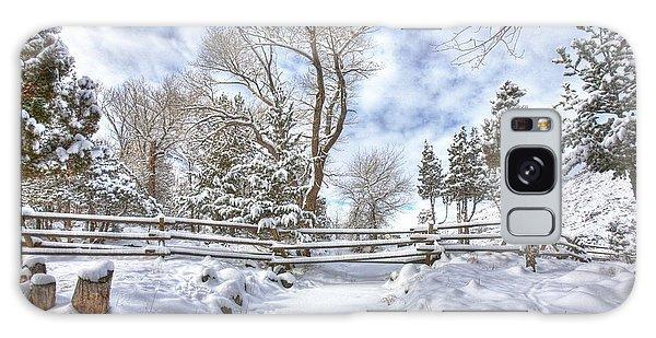 Winter Radiance Galaxy Case