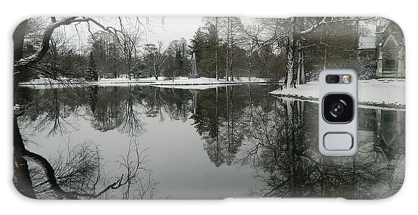 Winter Reflections 2 Galaxy Case by Kathy Barney