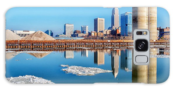 Winter Reflections Of Cleveland Ohio Galaxy Case
