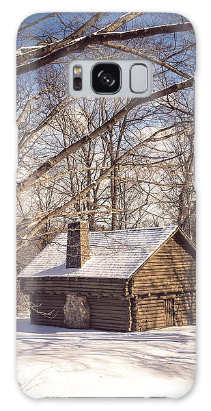 Winter Retreat Galaxy Case by Sara Frank