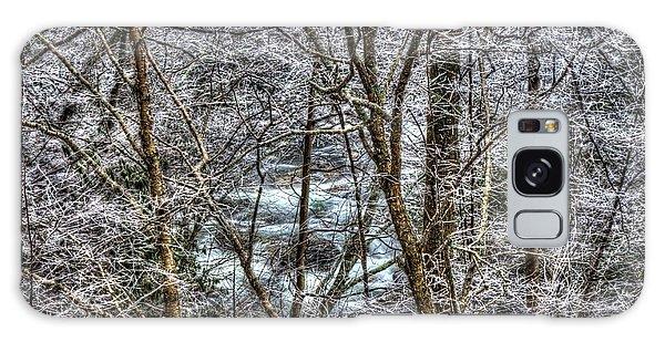 Winter River Galaxy Case