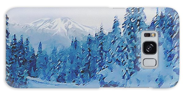Winter Road Galaxy Case
