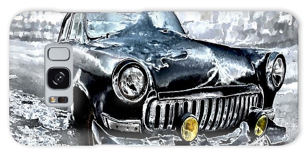 Winter Road Warrior Galaxy Case by Pennie  McCracken