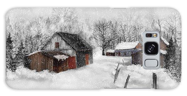 Winter Scene Galaxy Case