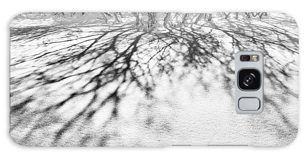 Winter Shadows Galaxy Case by The Forests Edge Photography - Diane Sandoval