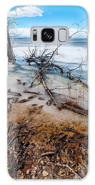 Winter Shore At Barr Lake_2 Galaxy Case