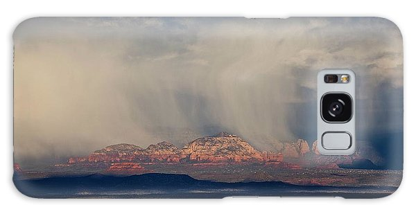 Winter Storm Approaches Sedona Galaxy Case
