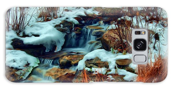 Winter Stream Galaxy Case by Dennis Lundell