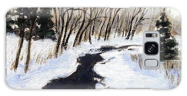 Winter Stream Galaxy Case