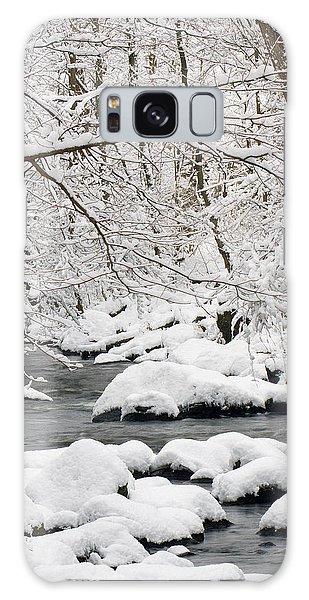 Winter Stream Galaxy Case by Timothy McIntyre