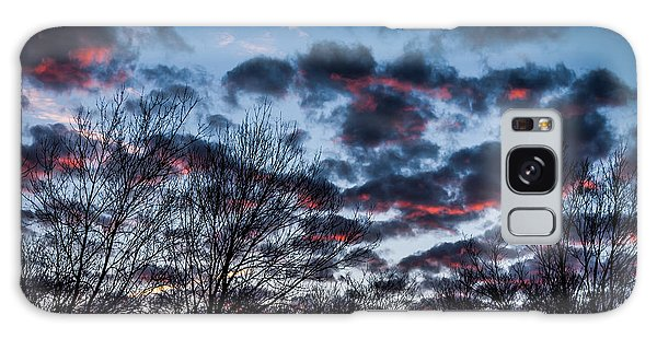 Winter Sunrise 3 Galaxy Case