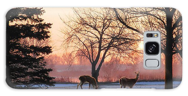 Winter Sunrise Greeting Galaxy Case by Doug Kreuger
