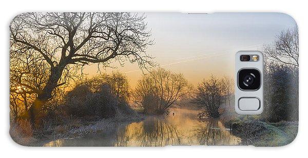 Winter Sunrise Galaxy Case by Trevor Chriss