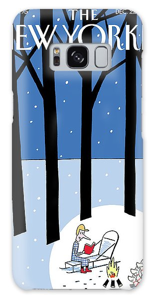 Winter Tails Galaxy Case