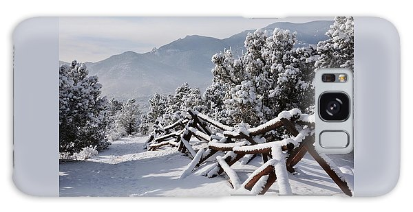 Winter Trail Beckons Galaxy Case