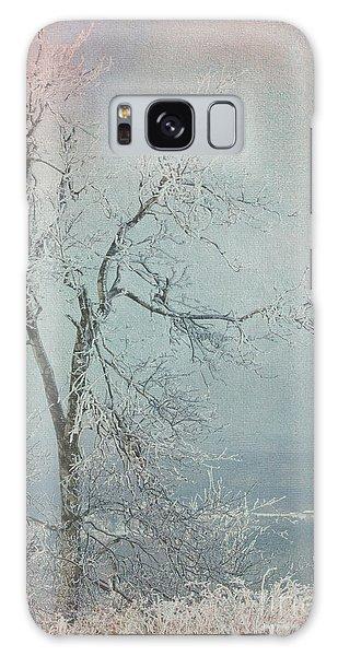 Winter Tree Galaxy Case by Jim  Hatch